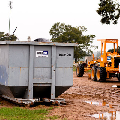 30 yard dumpster, Louisiana, Workbox